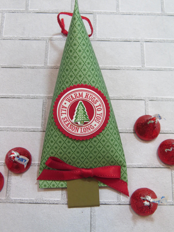 Christmas Tree Treat Holder