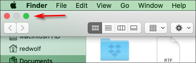 كيفية الخروج من وضع تقسيم العرض في macOS