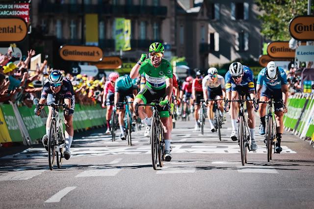 Mark Cavendish conquistou sua 34ª vitória em etapas do Tour de France