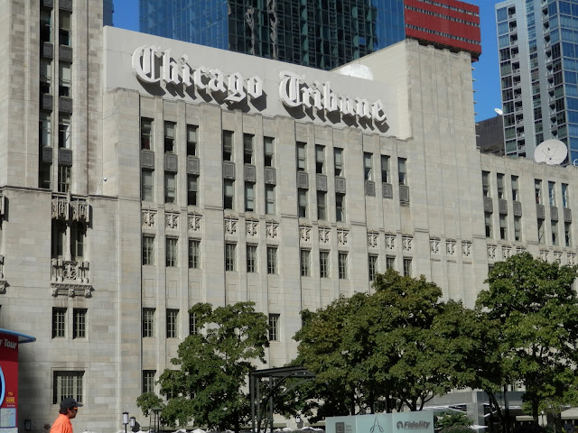 locaux du Chicago Tribune