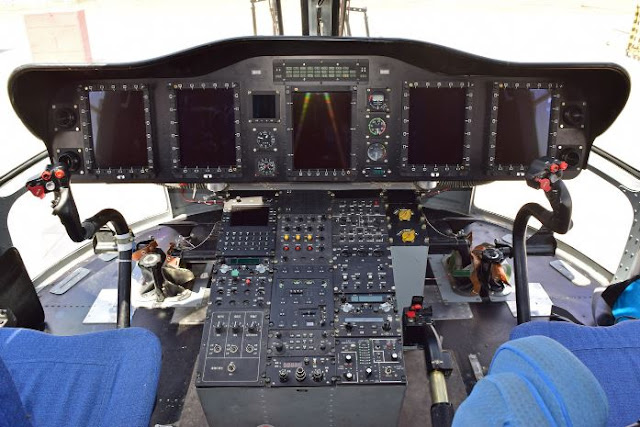 Avicopter AC313 Cockpit