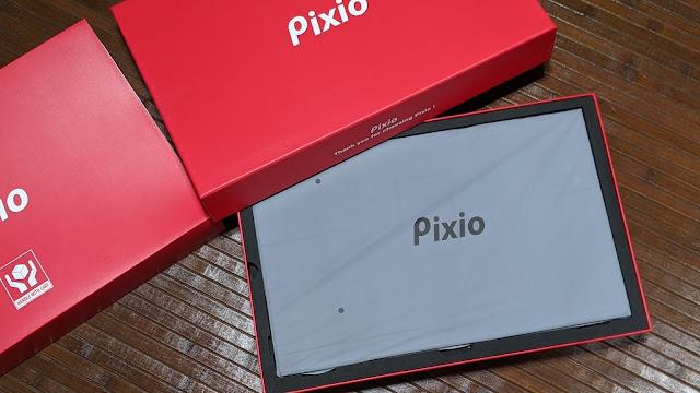 pixioモバイルモニター箱中身写真