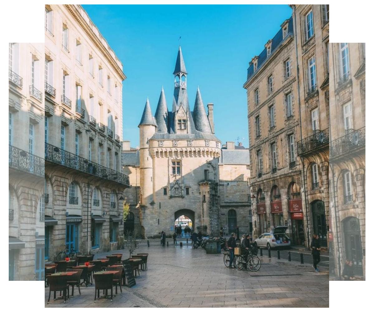 Puerta Grosse Cloche, Bordeaux