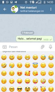 emoticon telegram