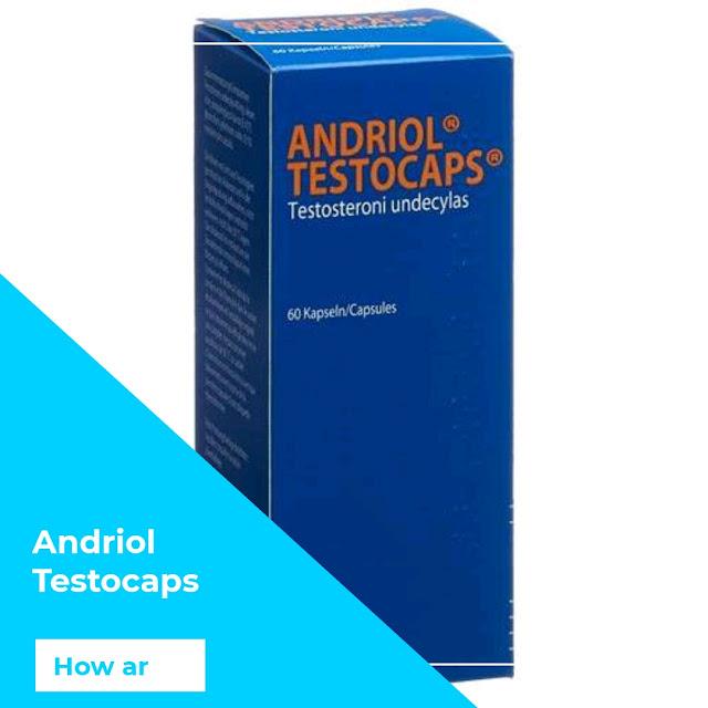 اندريول تستوكابس ANDRIOL Testocaps