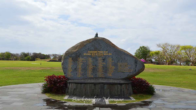 Monumen WTO Water Blow Nusa Dua Bali