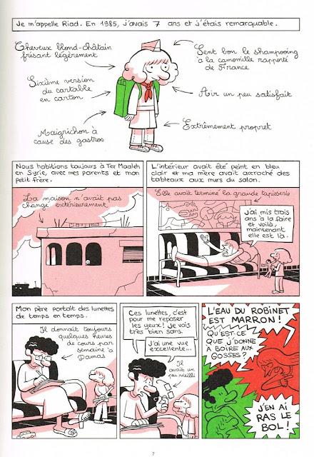 L'arabe du futur tome 3 page 7 chez Allary Editions