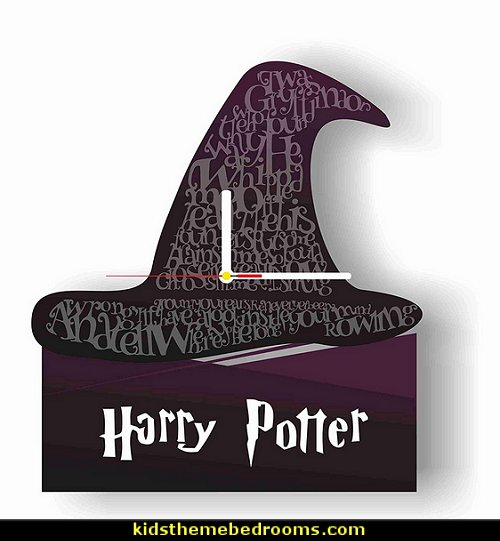 Unique design for Harry Potter fans – the Harry Potter clock