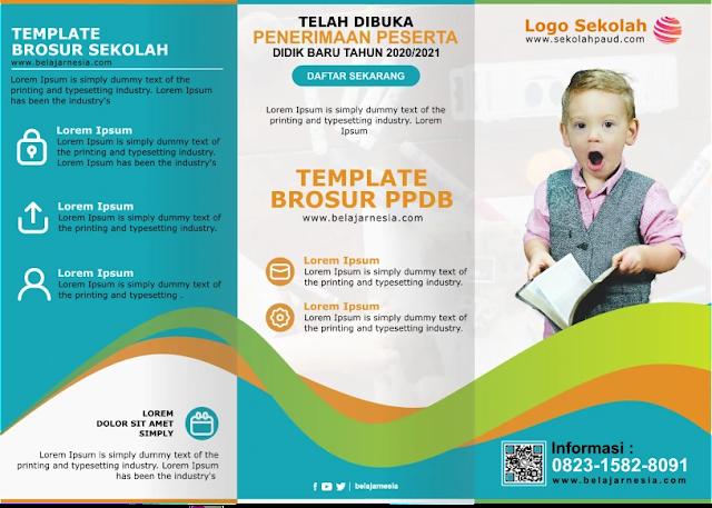 Free Download : Download Kumpulan Brosur PAUD, Taman Kanak Kanak Microsoft Word Gratis