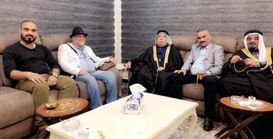 """د.إياد إيزار الحمداني """"يزور العراق لبحث أعمال وعدة اتفاقات في مقر اتحاد القبائل العربية"""