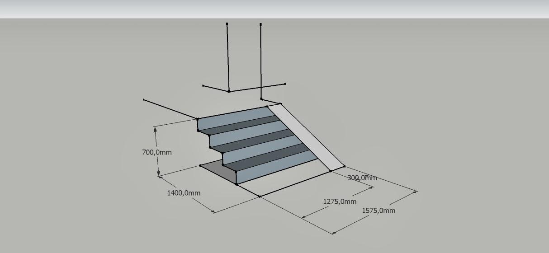 projetos de escadas