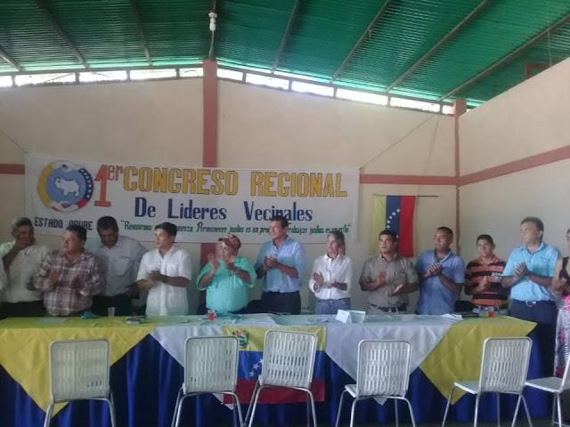 FRONTERA: Todo un éxito el Primer Congreso Regional de Líderes Vecinales en Guasdualito. Alto Apure.
