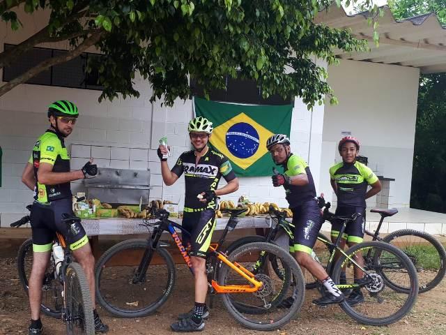 Tropdan ofereceu ponto de parada para bikes  durante prova do Macacolama