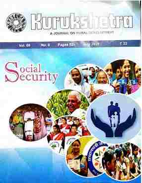 Kurukshetra Magazine July 2020 Pdf