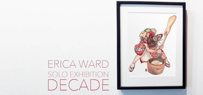 Erica Ward is Exhibiting in Tokyo at a Co Working Location