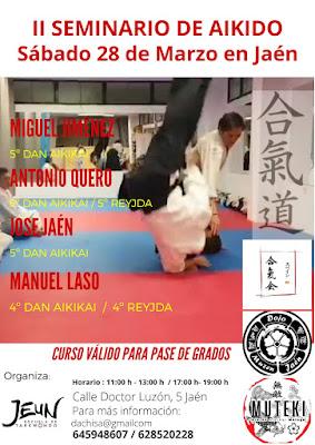Segundo Encuentro de Aikido en Jaén