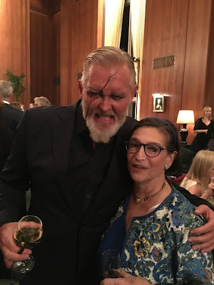Karen with tenor JAY HUNTER MORRIS, Captain Ahab in Jake Heggie's MOBY-DICK