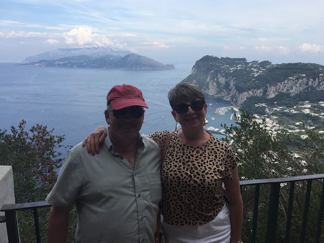 A TRIP TO ISLAND OF CAPRI AND THE BLUE GROTTO