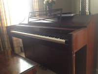 Picture of our Piano at Home