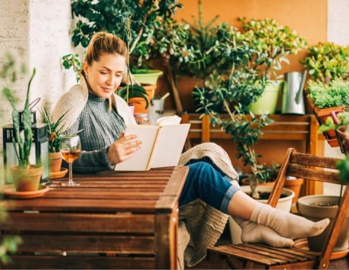 AMBIENTES: Rincón de lectura