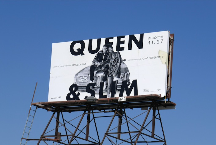 Queen & Slim film billboard