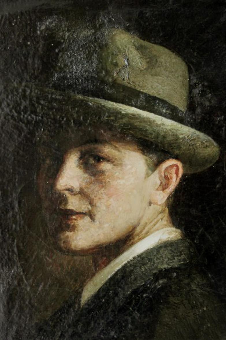 Alfredo Palmero de Gregorio, Galería de autorretratos, Pintor español, Pintura española, Pintores Realistas Españoles, Galería de retratos Figurativos, Pintor Alfredo Palmero