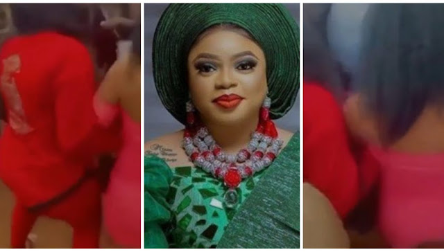 I thought I taught them to be classy but they embarrassed me – Bobrisky reacts to video of ladies bounced out of Obi Cubana's mom burial (Video)