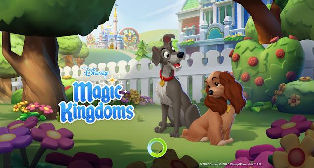 Lady and the Tramp Disney Magic Kingdoms