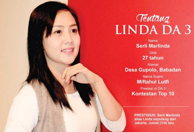 Terkenang, Sebelum Audisi Linda Menginap di masjid