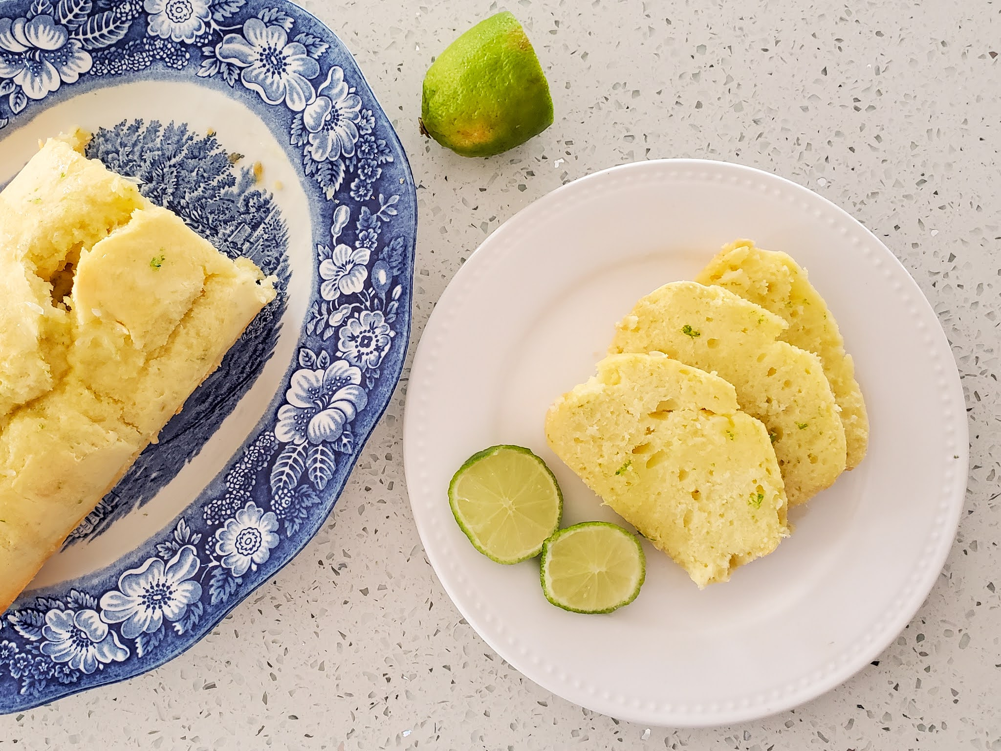 Easy and delicious lemon pound cake recipe by Plaid and Sugar