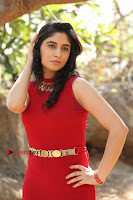 Telugu Actress Zahida Sam Latest Pos in Red Gown at RF Films New Movie Opening  0120.JPG