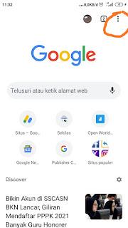 Cara akses situs terkena internet positif di smartphone