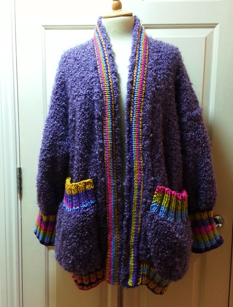 knit winter kardigan