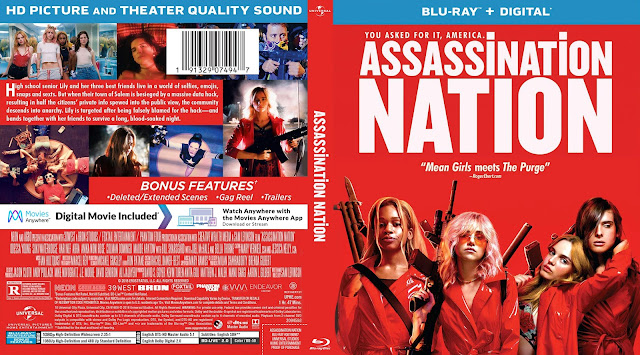 Assassination Nation Bluray Cover