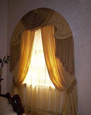 arched window curtain designs,arched window curtains