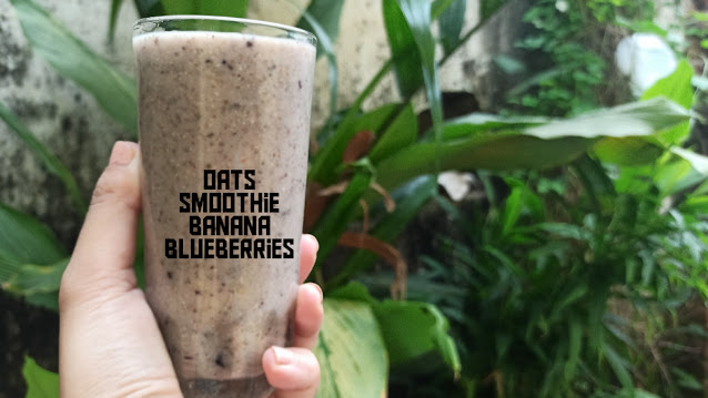 oats smoothie recipe for weight loss indian