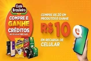 Promoção Compre e Ganhe Café Brasileiro 2020
