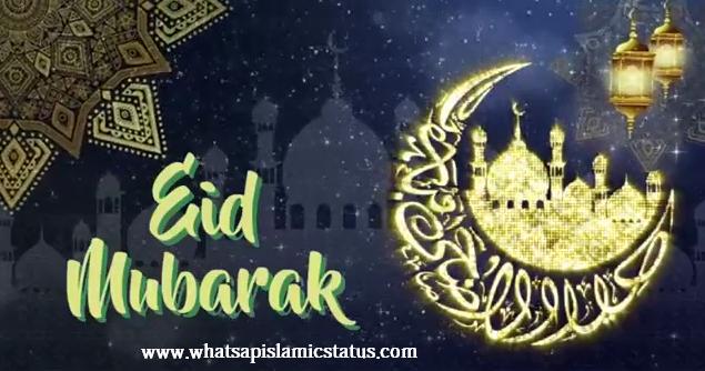 Eid Mubarak Video Status For Whatsapp Free Download Eid Status 2020