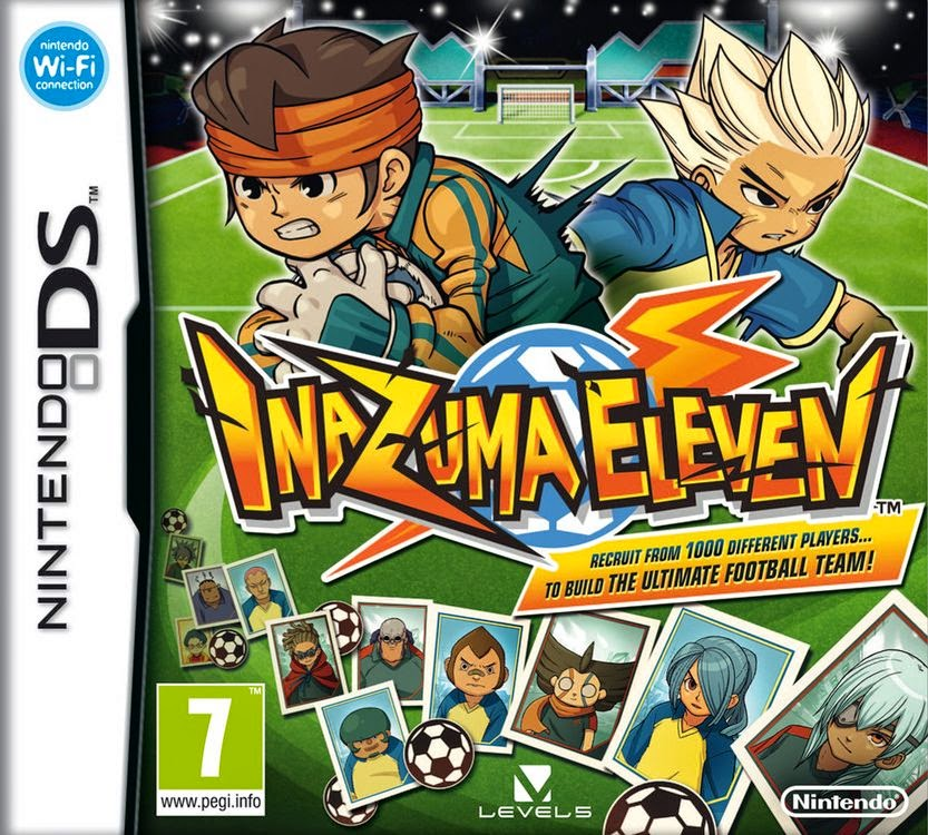 inazuma eleven worldcup coupe du monde football 2014 japon manga animé jeu video film go galaxy stone level 5 rpg ds wii portable roid 3ds saga