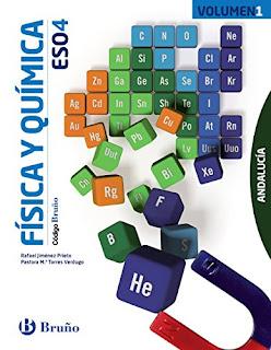 Libro Física y Química 4º ESO Bruño Proyecto Código Bruño