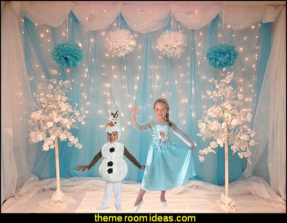 frozen costume Frozen Anna Elsa Deluxe Girl's Costume Frozen birthday party decorations