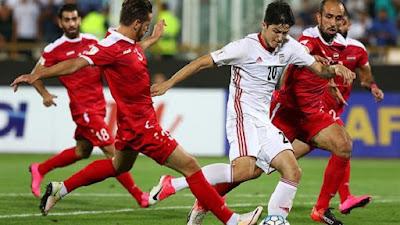 مشاهدة مباراة البحرين وإيران بث مباشر اليوم الثلاثاء 15-10-2019 في تصفيات كاس العالم