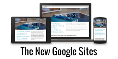 The Totally New Google Sites
