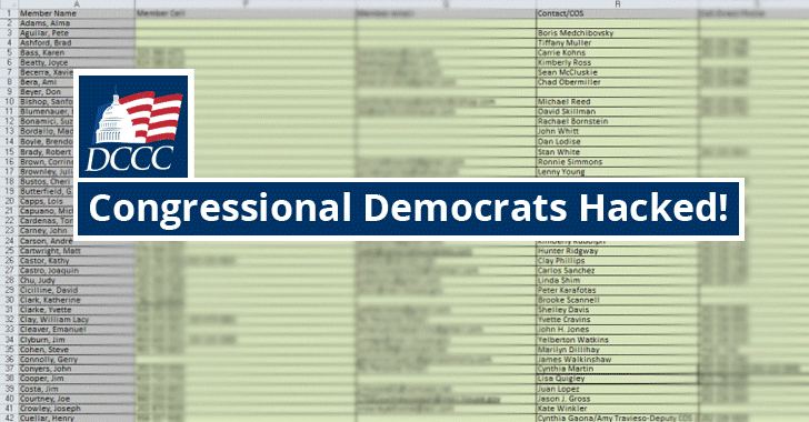 Guccifer 2.0 Leaks Personal Info of Nearly 200 Congressional Democrats