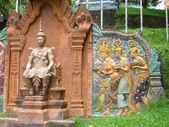 Cambodia में Siem Reap का इतिहास
