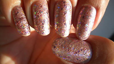 Addicted to OPI-yum: Rose Gold with Opal Nails and Sally ...