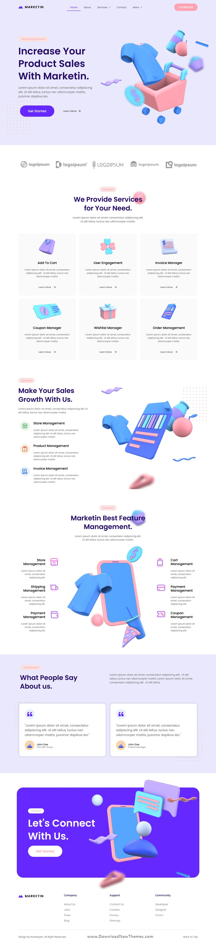 Business Startup and Agency Elementor Template Kit