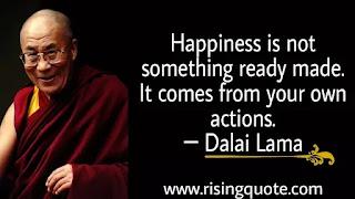 photo of Dalai Lama and motivational quote by Dalai Lama