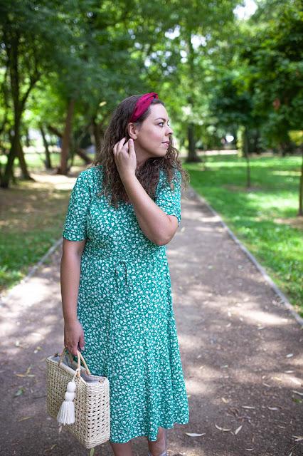 zielona sukienka kappahl