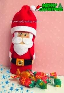 dulcero-santa-navideño-reciclado